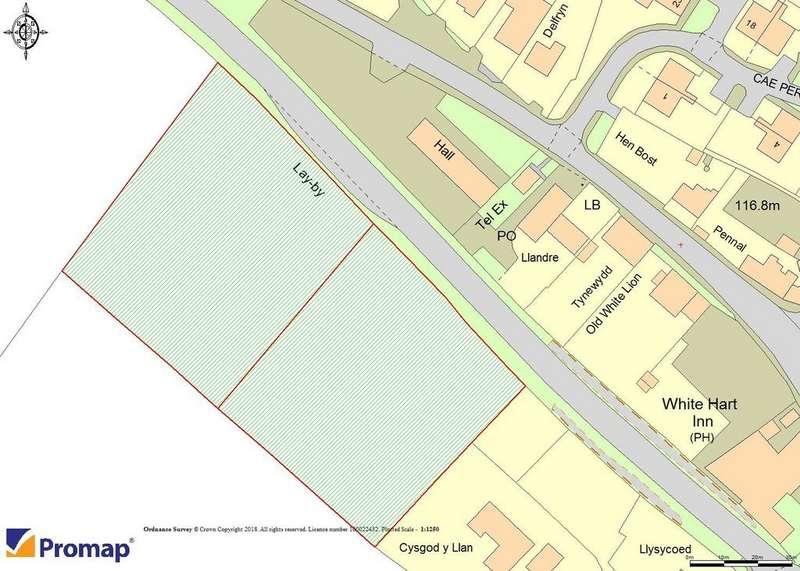 Plot Commercial for sale in Llanddarog Carmarthen SA32 8NS