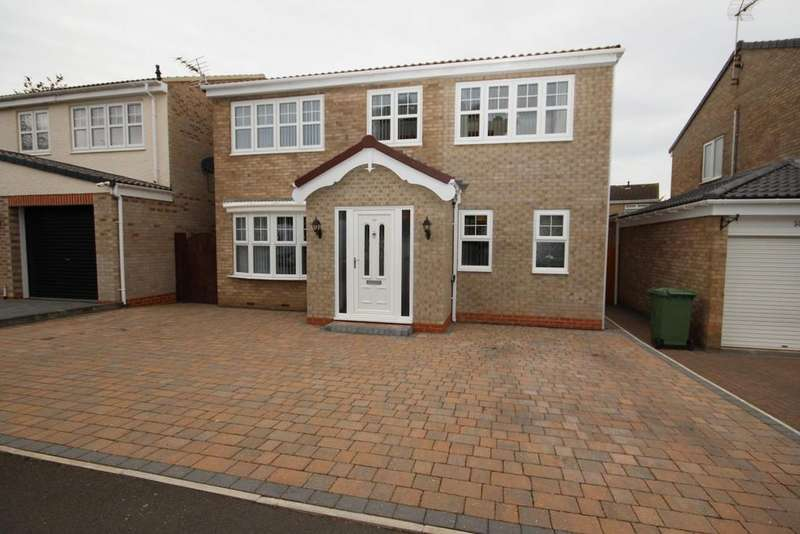 4 Bedrooms Detached House for sale in Felixstowe Close, South Fens, Hartlepool
