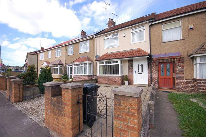 4 Bedrooms Terraced House for sale in Orchard Vale, Kingswood, Bristol, BS15 9UL