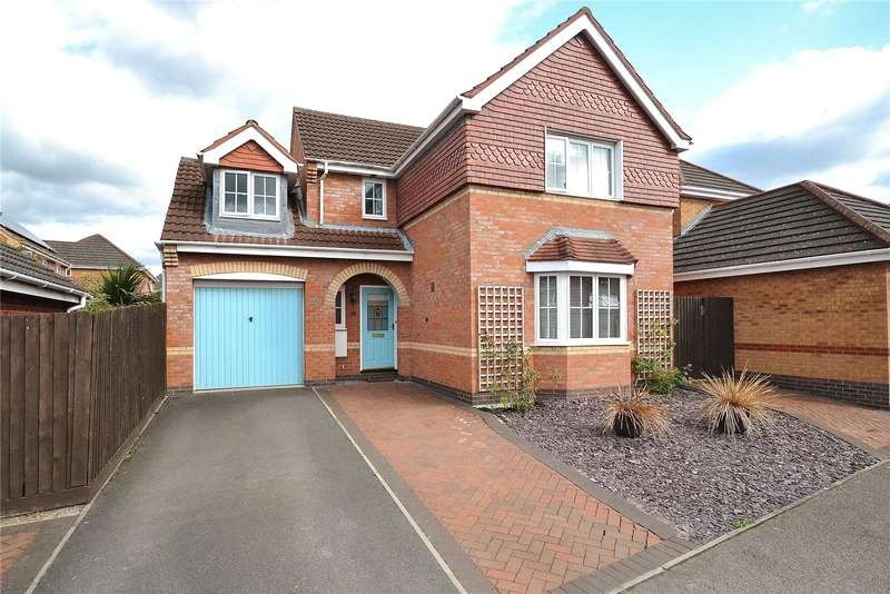 4 Bedrooms Detached House for sale in 5 Holt Coppice, Bratton, Telford, Shropshire, TF5