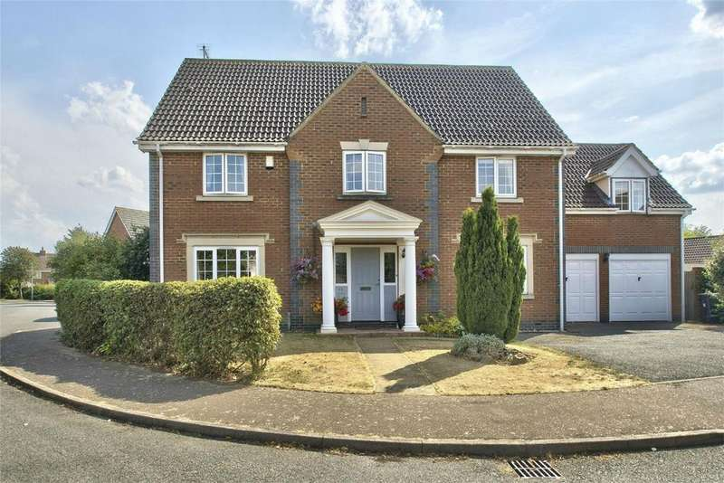 5 Bedrooms Detached House for sale in Miller Close, Godmanchester, HUNTINGDON, Cambridgeshire