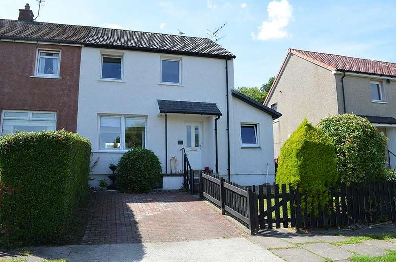 3 Bedrooms Semi Detached House for sale in Argyll Road, Kirn, Dunoon, PA23 8LY