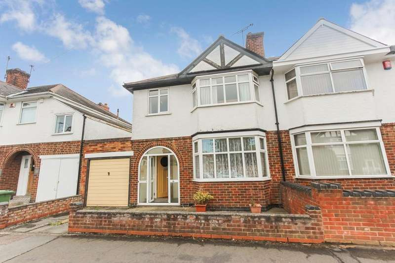 3 Bedrooms Semi Detached House for sale in Westfield Road, Leicester, LE3