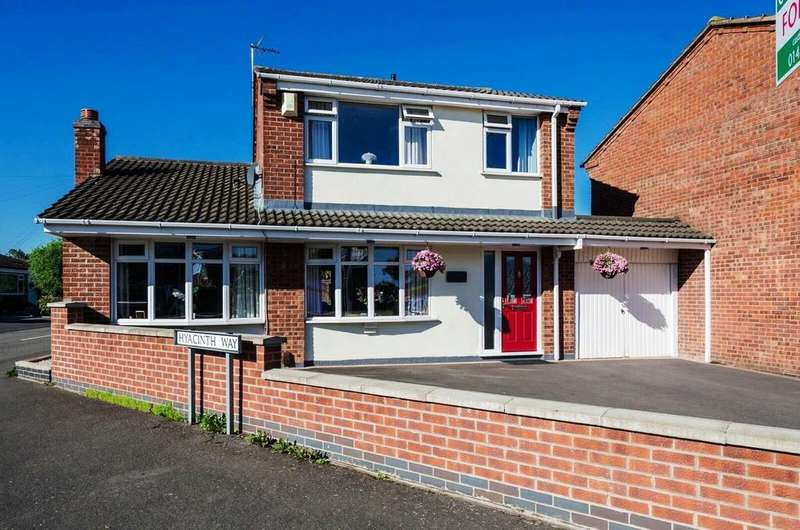 3 Bedrooms Detached House for sale in Azalea Drive, Burbage
