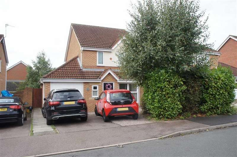 3 Bedrooms Detached House for sale in Darien Way, Leicester