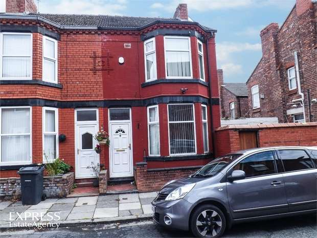 3 Bedrooms End Of Terrace House for sale in Baytree Road, Birkenhead, Merseyside