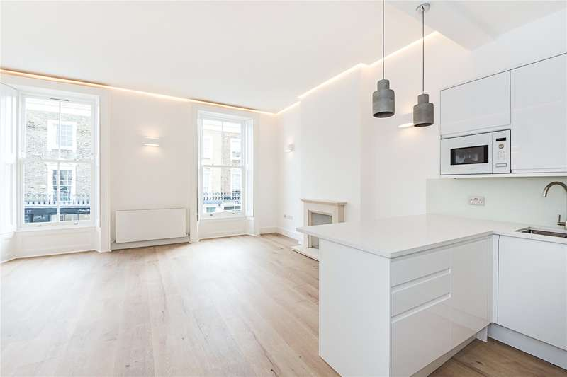 2 Bedrooms Flat for sale in Old Post House, Churton Place, London, SW1V