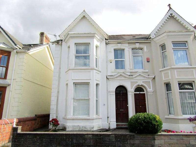 4 Bedrooms Semi Detached House for sale in Glenalla Road, Llanelli, Carmarthenshire. SA15 1EE