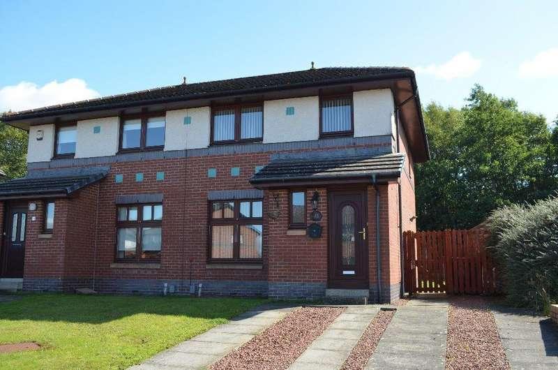 3 Bedrooms Semi Detached House for sale in Downcraig Road, Castlemilk, Glasgow, G45 9PB