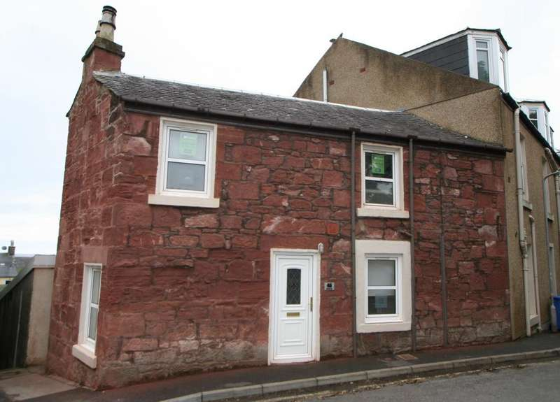 2 Bedrooms Semi Detached House for sale in 46 George Street, Millport, ISLE OF CUMBRAE, KA28 0BQ