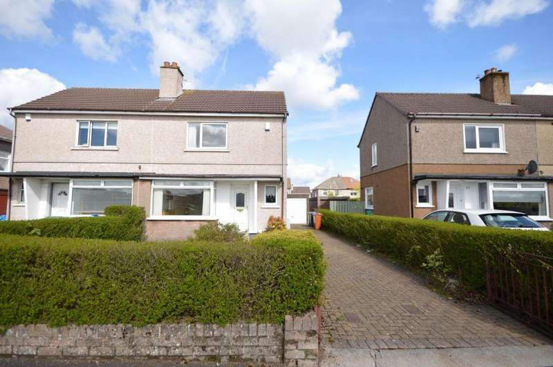 2 Bedrooms Semi Detached House for sale in 43 Park Road, Bishopbriggs, Glasgow, G64 2NP