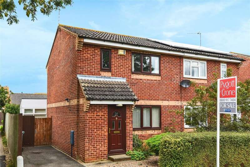 2 Bedrooms Semi Detached House for sale in The Drift, Barrowby, NG32