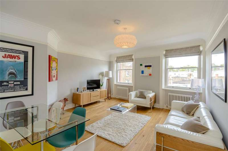 2 Bedrooms Flat for sale in Campden Hill Mansions, Edge Street, London