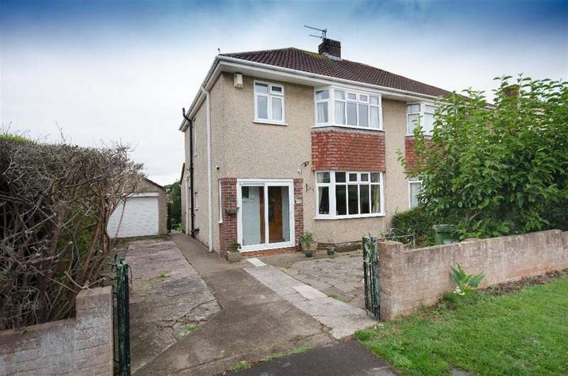 3 Bedrooms Semi Detached House for sale in Queensholm Drive, Downend, Bristol, BS16 6LG