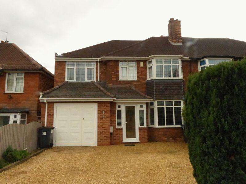 3 Bedrooms Semi Detached House for sale in Antrobus Road, Sutton Coldfield