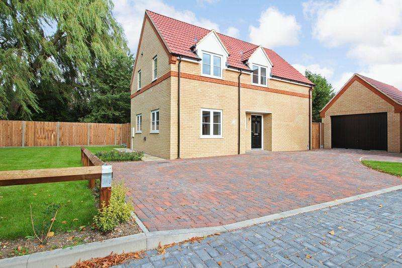 4 Bedrooms Detached House for sale in The Lane, Wyboston Village