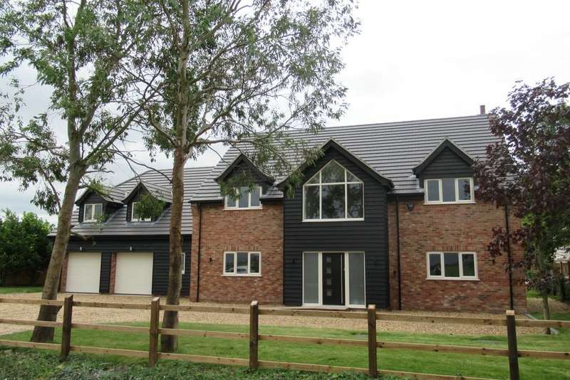 5 Bedrooms Detached House for sale in Bar Drove, Friday Bridge, Wisbech