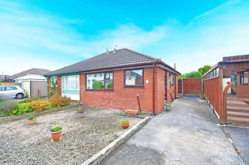 2 Bedrooms Semi Detached Bungalow for sale in Wasdale Road, Blackpool, Lancashire, FY4 4NP