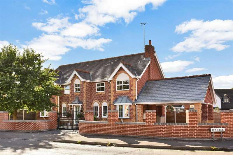 5 Bedrooms Detached House for sale in Ley Lane, Mansfield Woodhouse