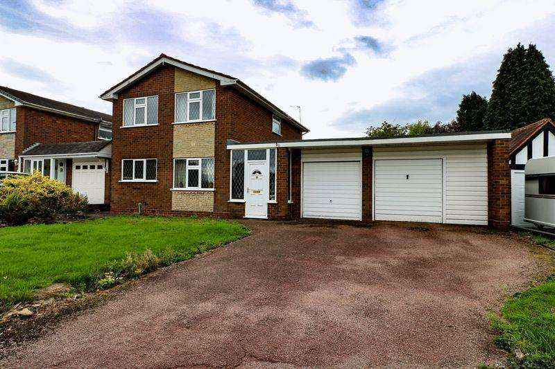 3 Bedrooms Detached House for sale in Stencills Drive, Walsall