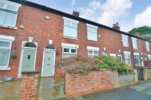 2 Bedrooms Terraced House for sale in Warren Road, Cale Green, Stockport, Cheshire