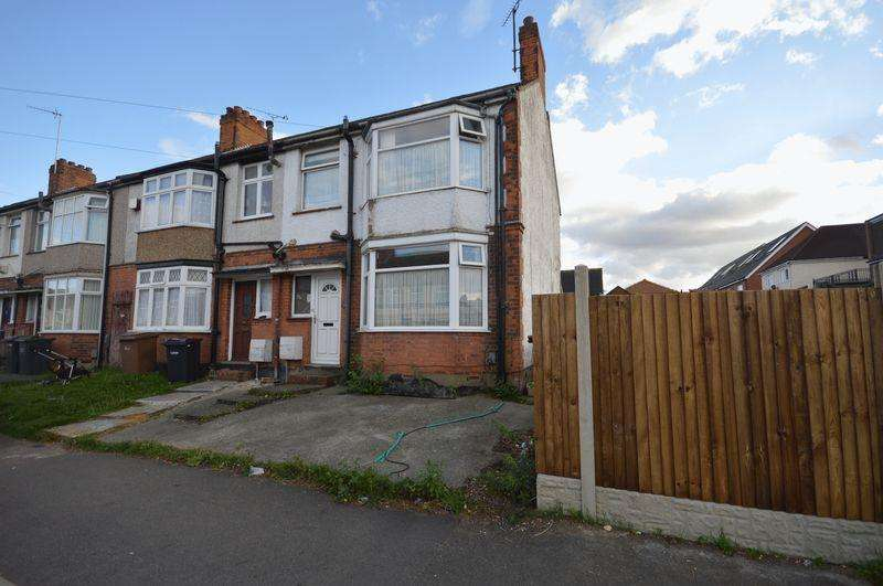 3 Bedrooms End Of Terrace House for sale in Carisbrooke Road.
