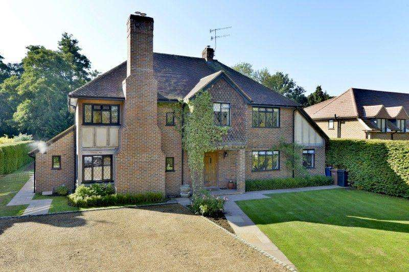 5 Bedrooms Detached House for sale in Mellersh Hill Road, Wonersh Park, Wonersh, Guildford