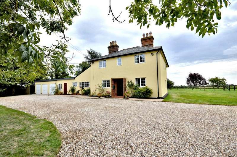 4 Bedrooms Detached House for sale in Goldens Lane, Radwinter End, Nr Saffron Walden, Essex, CB10