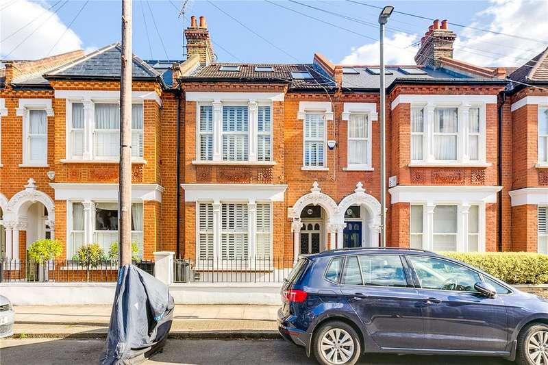 4 Bedrooms Terraced House for sale in Manchuria Road, Battersea, London