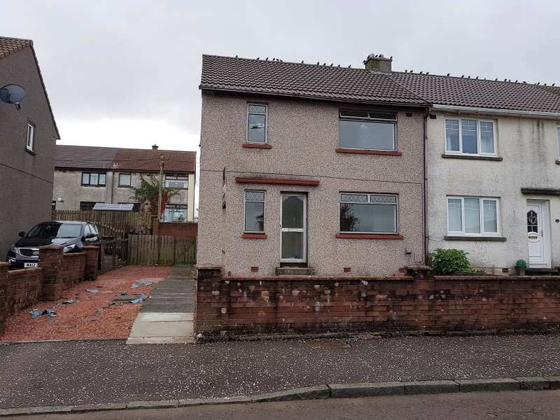 2 Bedrooms End Of Terrace House for sale in 33, Ballochmyle Quadrant, Catrine, East Ayrshire