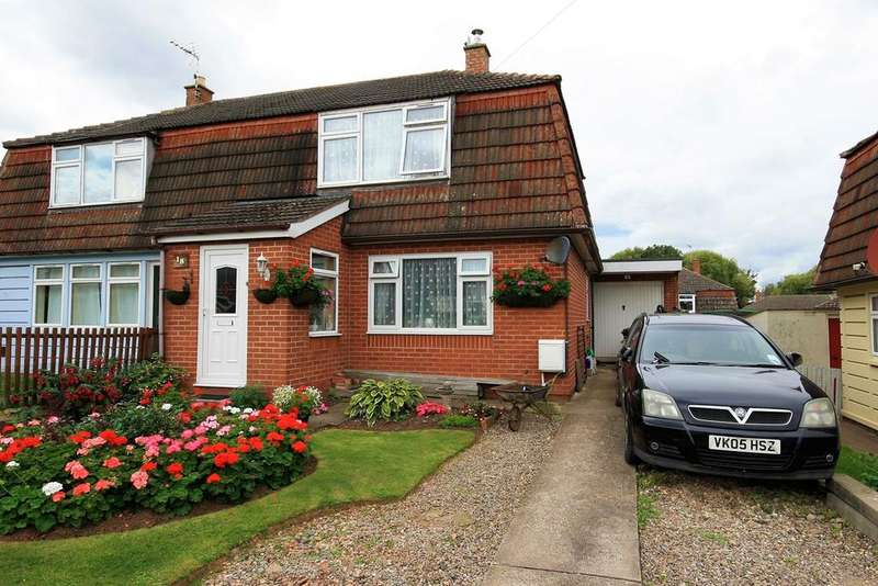 3 Bedrooms Semi Detached House for sale in Monnow Crescent, Hereford, HR2