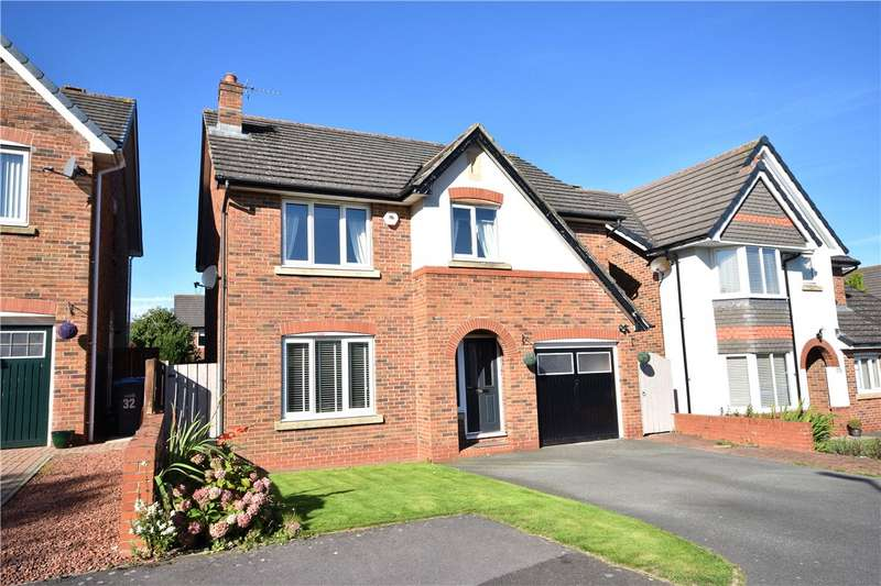 4 Bedrooms Detached House for sale in Barrington Meadows, Bishop Auckland, Co Durham, DL14