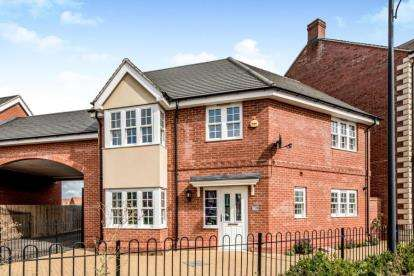 3 Bedrooms Link Detached House for sale in Brooklands Avenue, Wixams, Bedford, Bedfordshire