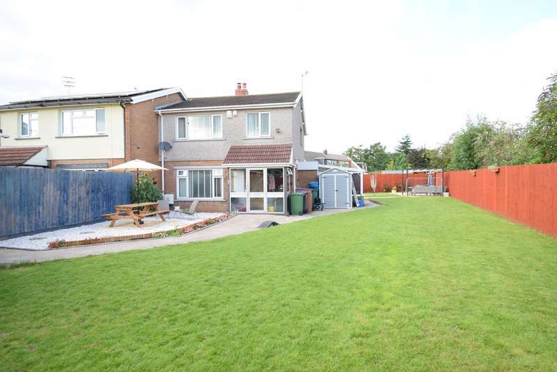 3 Bedrooms Semi Detached House for sale in Avondale Close, Pontrhydyrun, Cwmbran, NP44