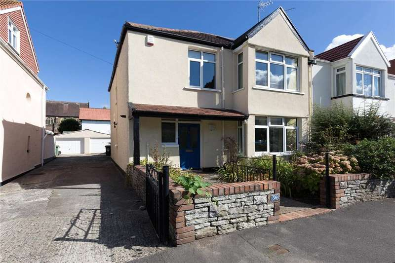 4 Bedrooms Semi Detached House for sale in Lawrence Grove, Henleaze, Bristol, BS9