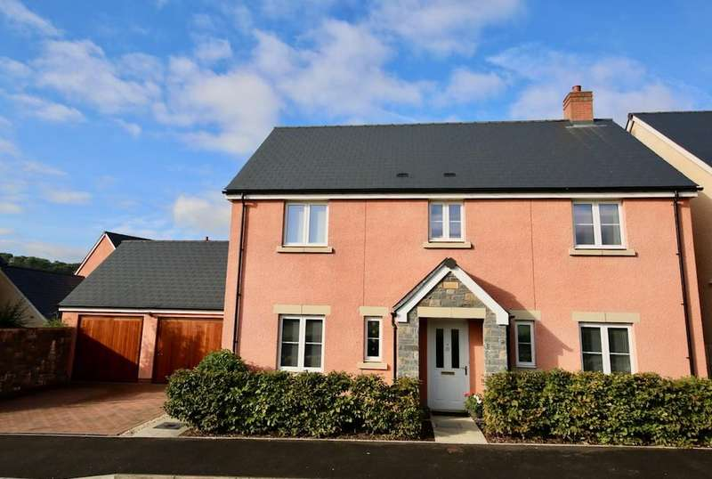 4 Bedrooms Detached House for sale in Little Mill, Nr Usk