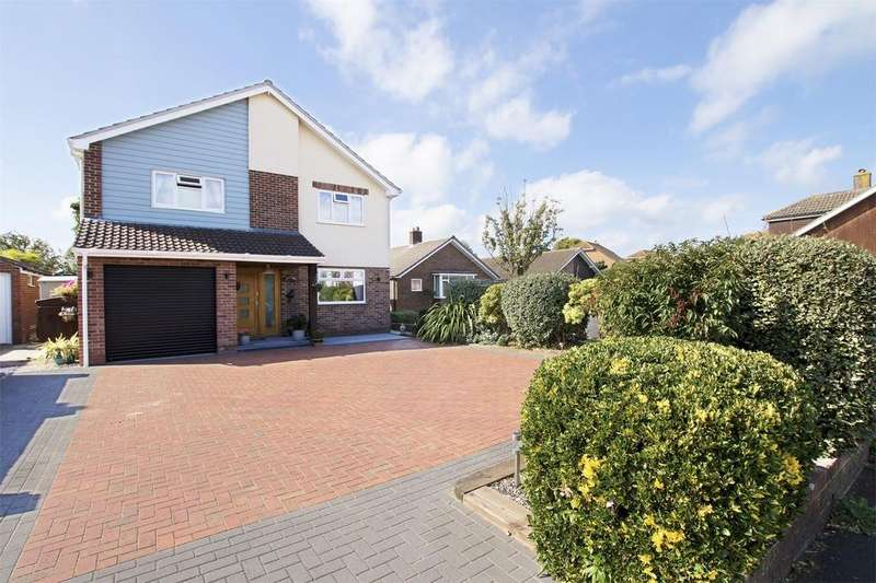 4 Bedrooms Detached House for sale in Cheltenham Crescent, Lee-on-the-Solent, Hampshire
