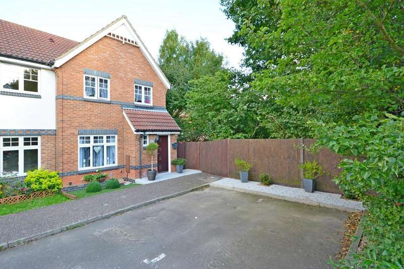 3 Bedrooms End Of Terrace House for sale in Crabs Croft, Braintree, Essex, CM7