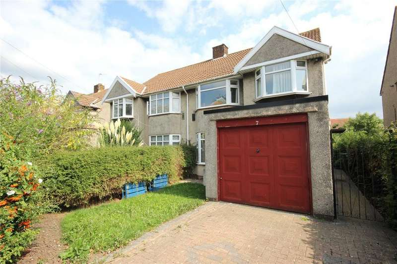 3 Bedrooms Semi Detached House for sale in Elms Grove, Patchway, Bristol, BS34