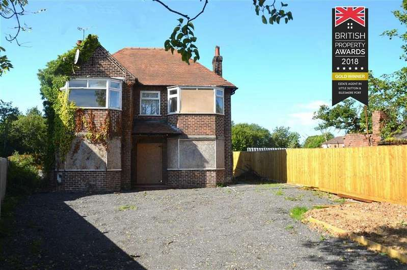 4 Bedrooms Detached House for sale in Chester Road, Whitby, CH65