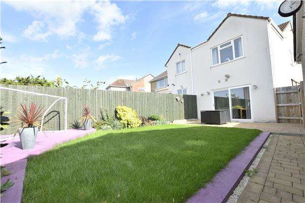 3 Bedrooms Semi Detached House for sale in Westcourt Drive, Oldland Common, BS30 9SB