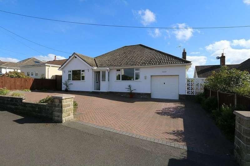 2 Bedrooms Detached Bungalow for sale in Bleadon Hill, Weston-super-Mare, Somerset, BS24 9JW