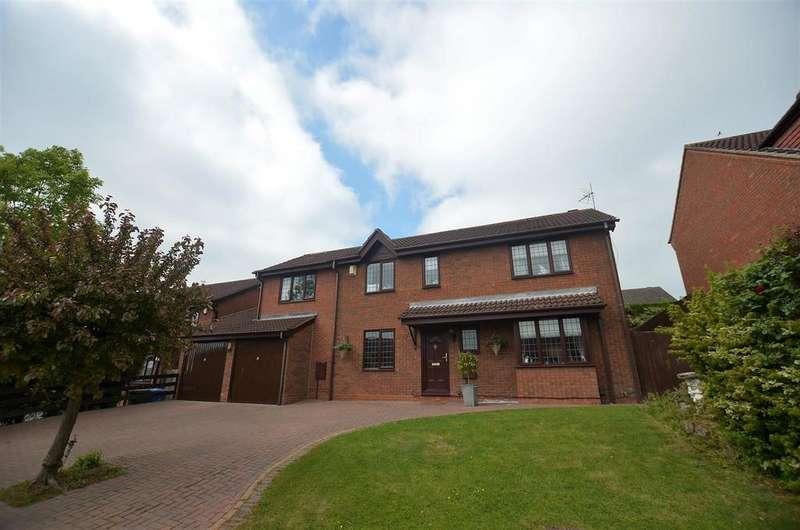 5 Bedrooms Detached House for sale in Slaidburn Close, Mickleover, Derby