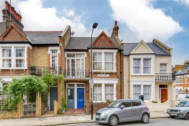 2 Bedrooms Flat for sale in Colehill Lane, Fulham, London