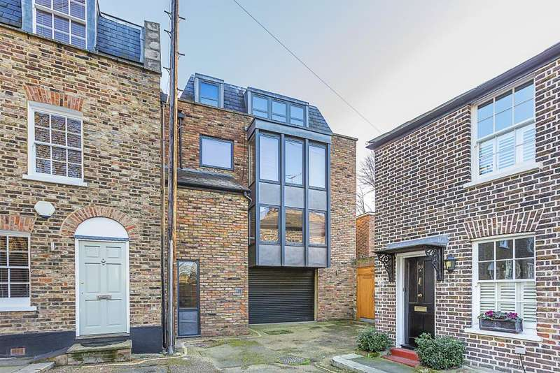 4 Bedrooms Semi Detached House for sale in THE BUTTS, BRENTFORD, LONDON