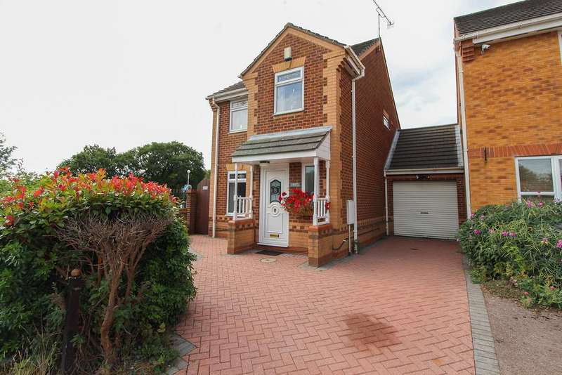 3 Bedrooms Link Detached House for sale in Old House Road, Chesterfield