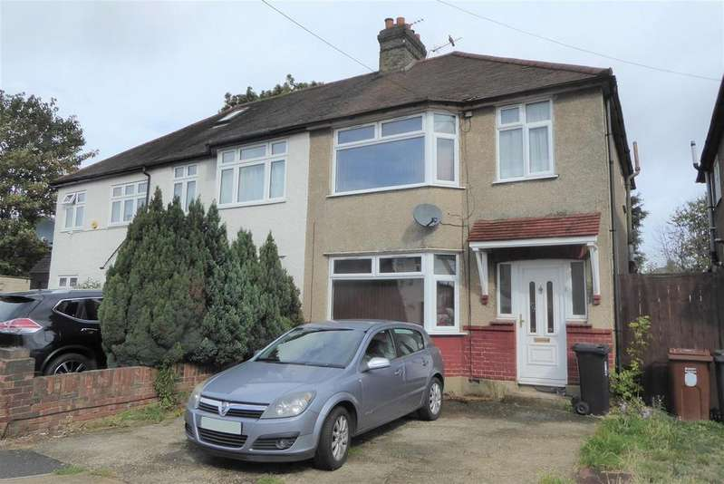 3 Bedrooms Semi Detached House for sale in Ferndale Avenue, Hounslow