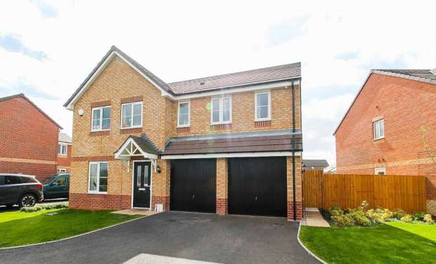 5 Bedrooms Detached House for sale in Jefferson Walk, Stafford, Staffordshire, ST16 1WF