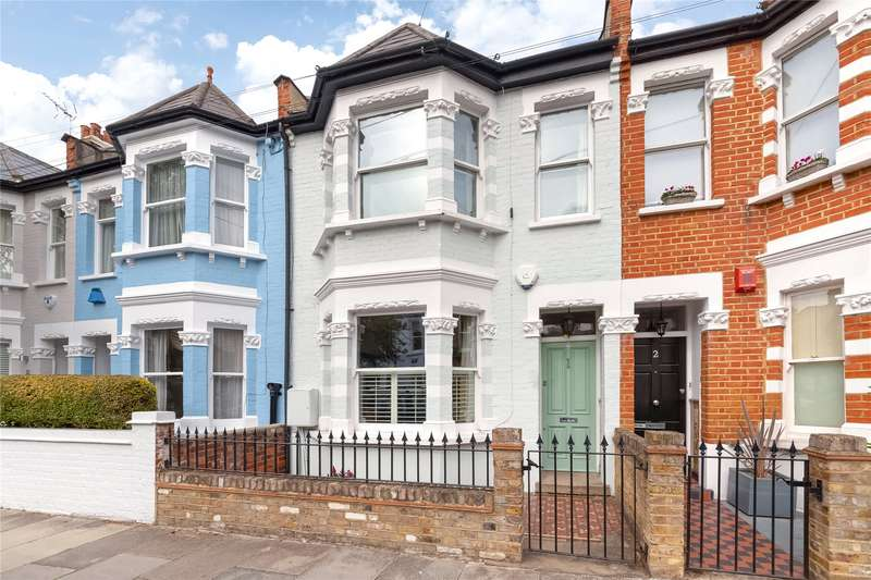 4 Bedrooms Terraced House for sale in Beltran Road, Parsons Green, Fulham, London, SW6