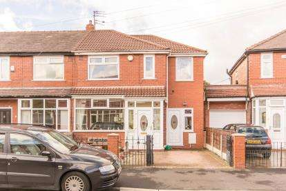 3 Bedrooms End Of Terrace House for sale in Colwyn Crescent, Reddish, Stockport, Cheshire
